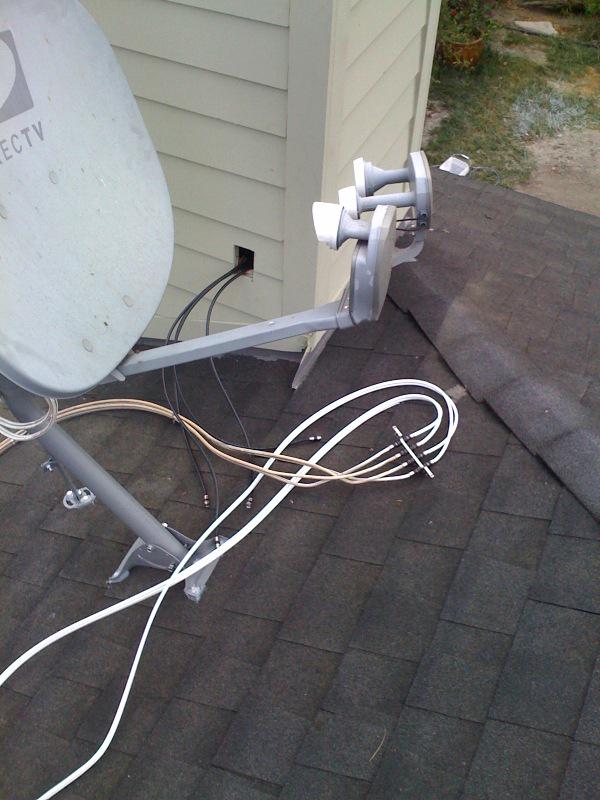 satellite cleanup
